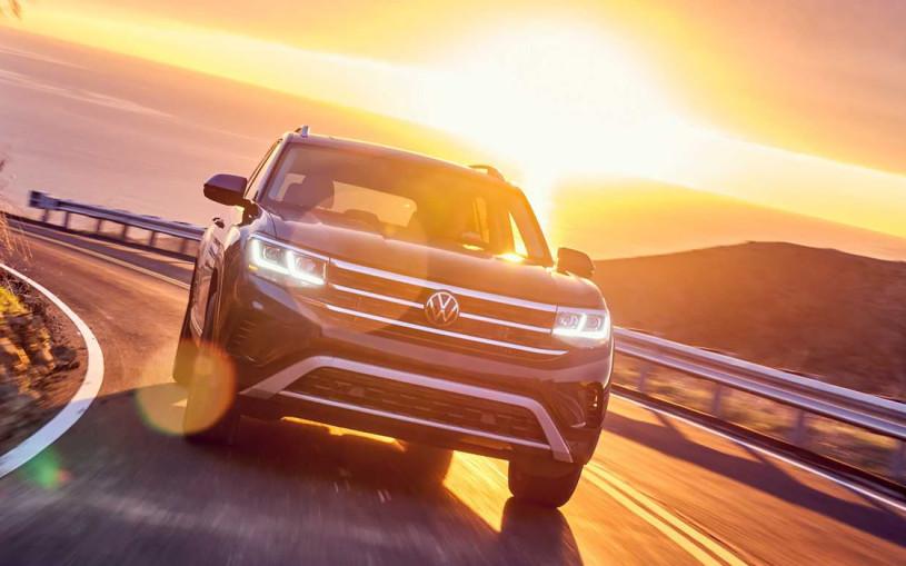 Volkswagen представил обновленный кроссовер Teramont