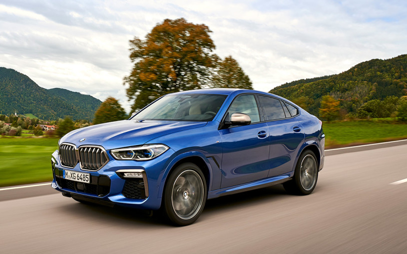 Новый BMW X6: первые впечатления