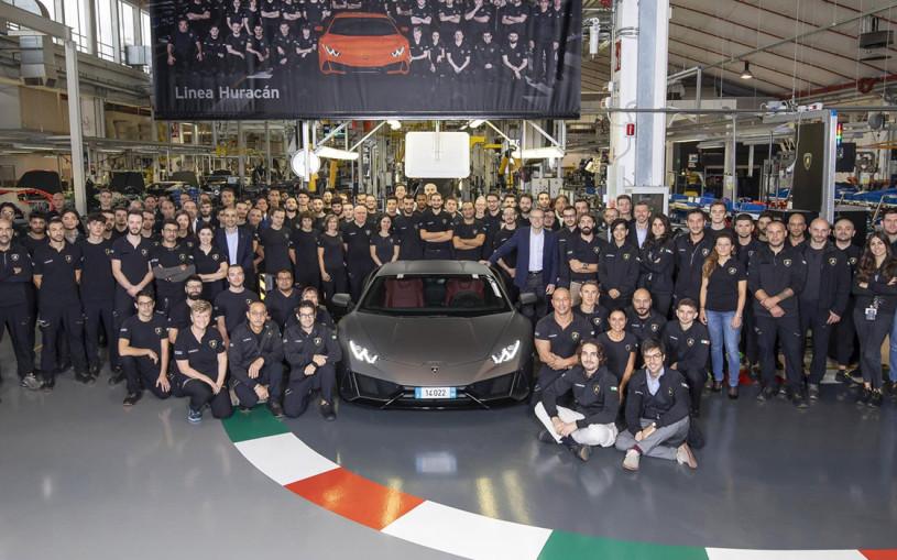 Суперкар Huracan стал самым массовым Lamborghini в истории