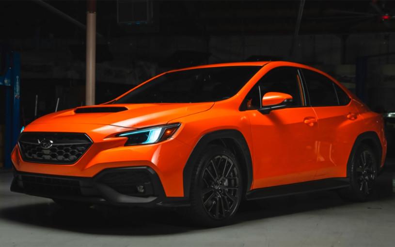 Дизайн нового Subaru WRX рассекретили до премьеры