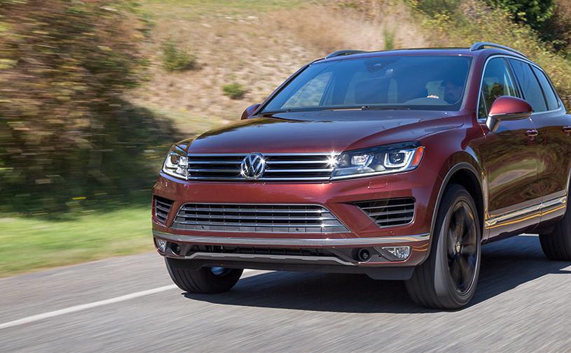 Volkswagen Touareg покидает рынок США