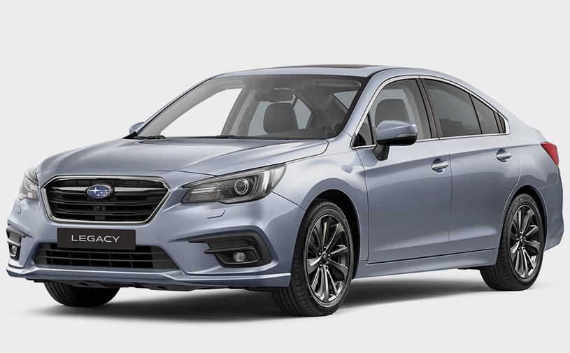 Subaru рассказал о седане Legacy для российского рынка