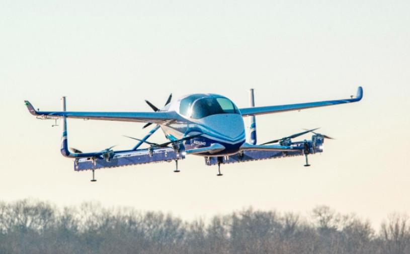 Видео: Boeing приступил к испытаниям беспилотного летающего такси