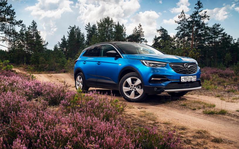 Тест-драйв Opel Grandland Х в карточках: 5 главных фактов