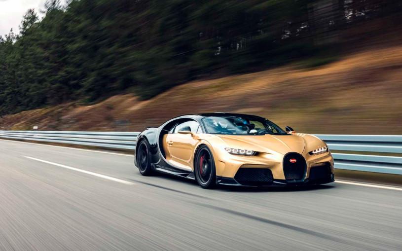 Bugatti разогнала новую версию Chiron до 440 км/ч во время тестов