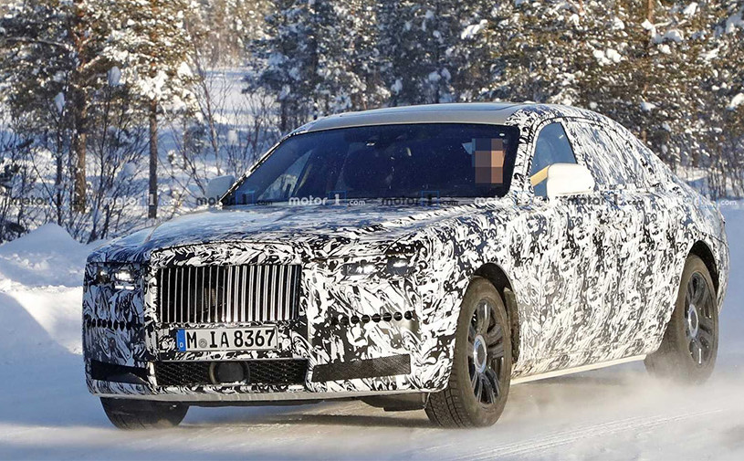 Новый Rolls-Royce Ghost заметили на тестах