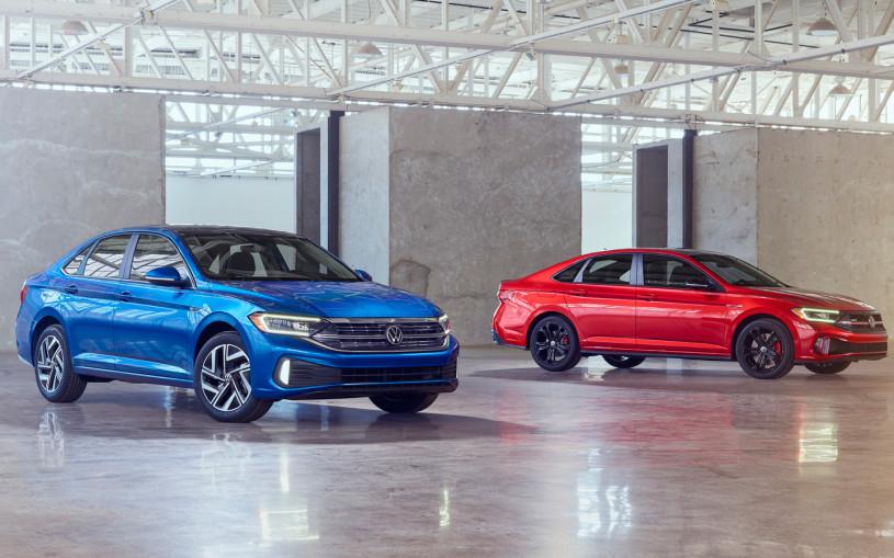Volkswagen модернизировал седан Jetta и добавил ему новый мотор