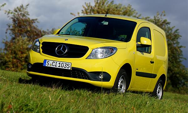 Премиальный фургон. Mercedes-Benz Citan
