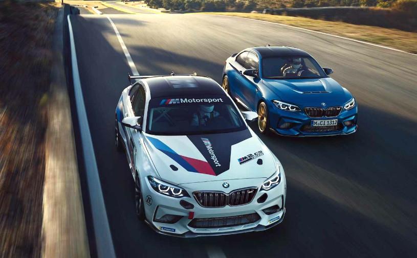 BMW представила гоночную версию самой быстрой M2