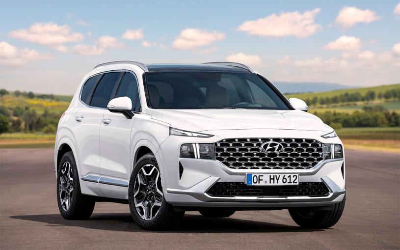 Обновленный Hyundai Santa Fe появится в России в начале 2021 года