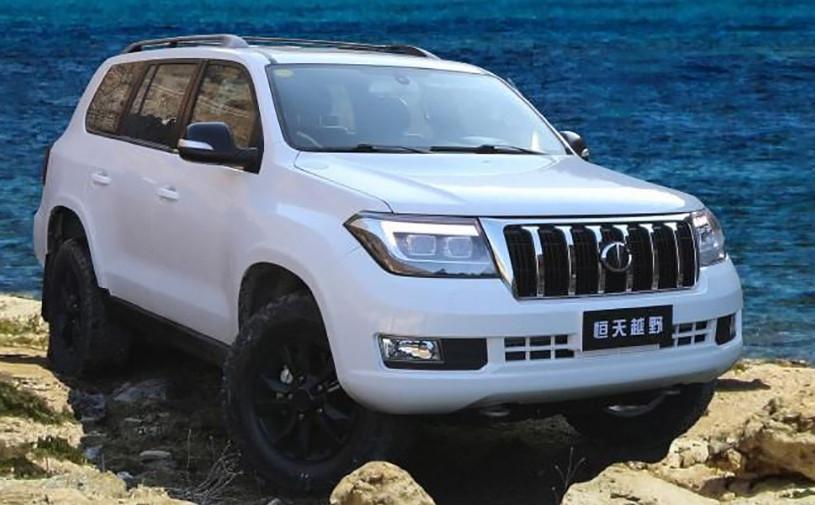 Китайского клона Toyota Land Cruiser показали на официальных фото