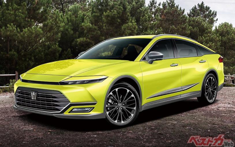 Toyota разработает премиум-кроссовер на базе новой Crown