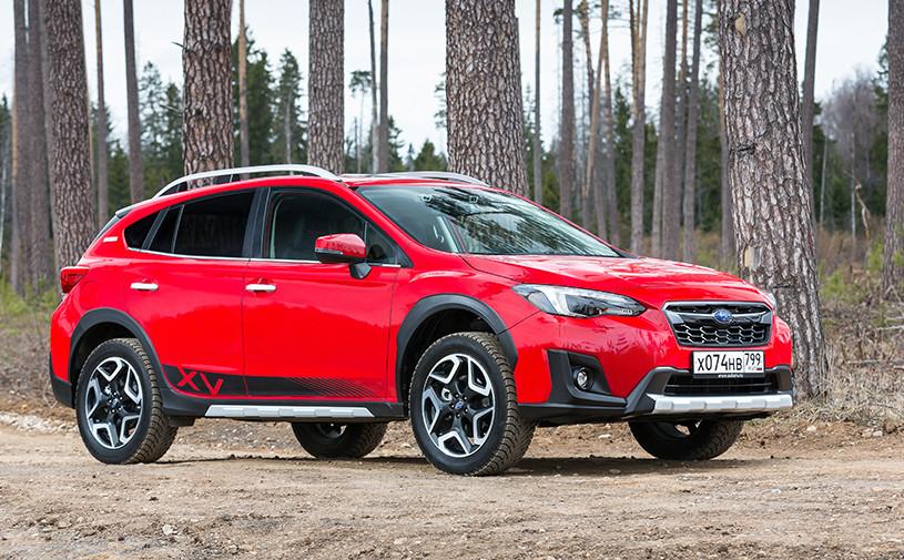 Subaru привезла в Россию «токийскую» версию кроссовера XV