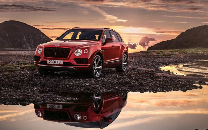 Bentley Bentayga получил 550-сильный V8 и самые большие тормоза в мире