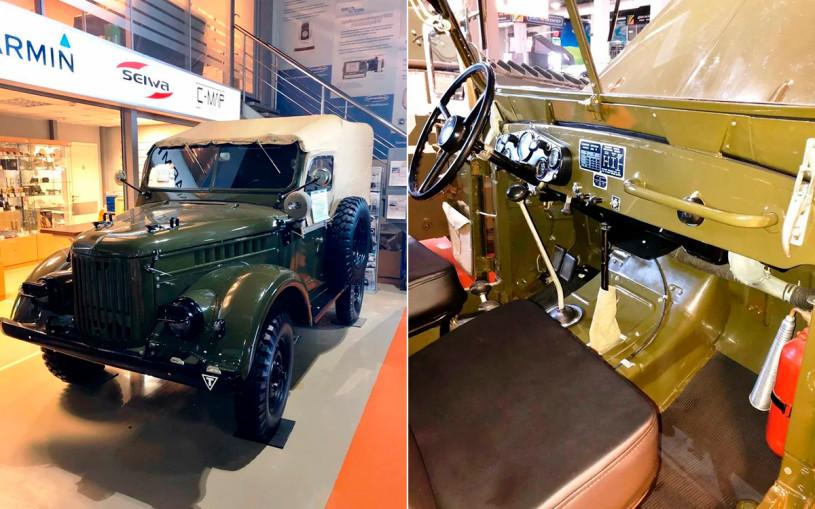 Советский внедорожник ГАЗ-69 без пробега выставили на продажу за ₽1 млн