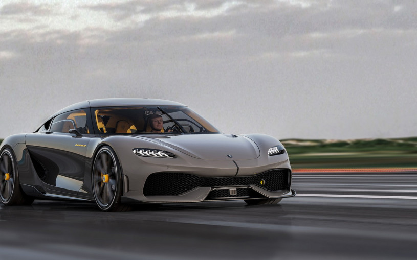 Koenigsegg выпустил четырехместный 1700-сильный гиперкар