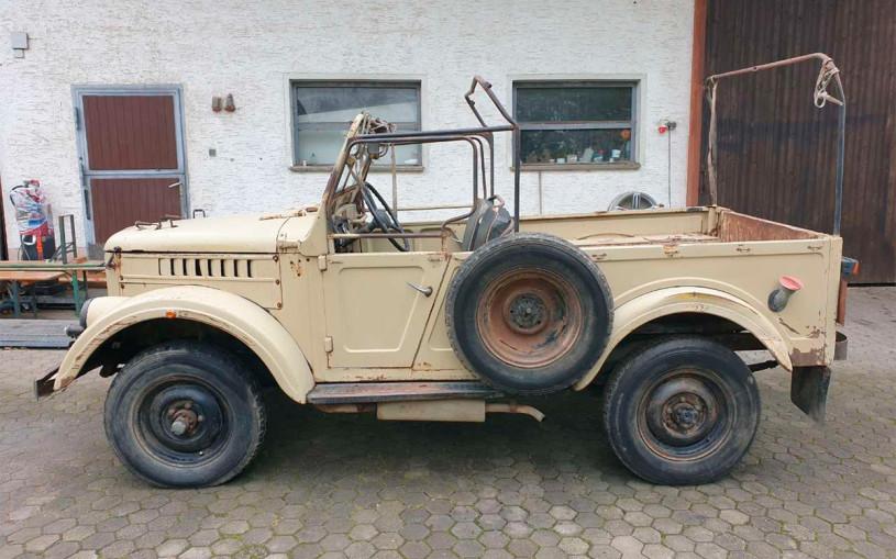 В Германии нашли советский внедорожник ГАЗ-69 с дизельным мотором