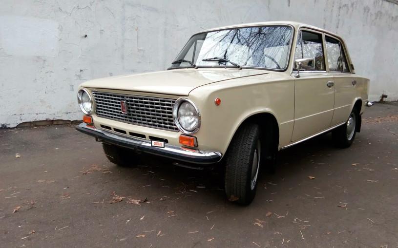 «Капсулу времени» ВАЗ-21013 оценили в миллион рублей. Фото