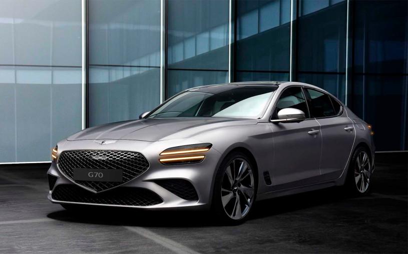 Genesis представил обновленный седан G70
