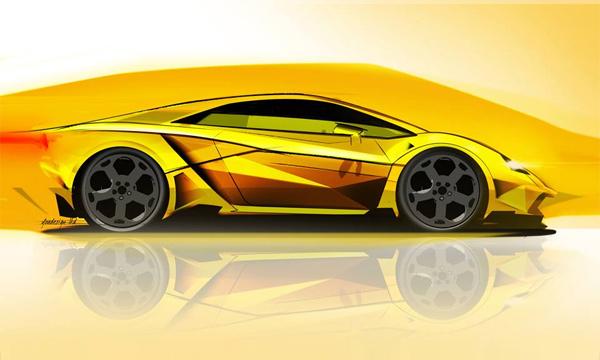 Lamborghini Cabrera: быку дорога