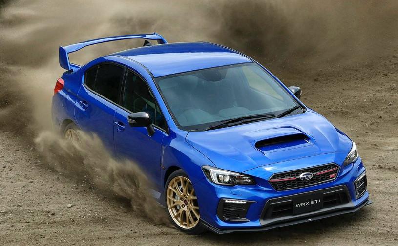 Subaru попрощалась с легендарным мотором особой версией седана WRX STI