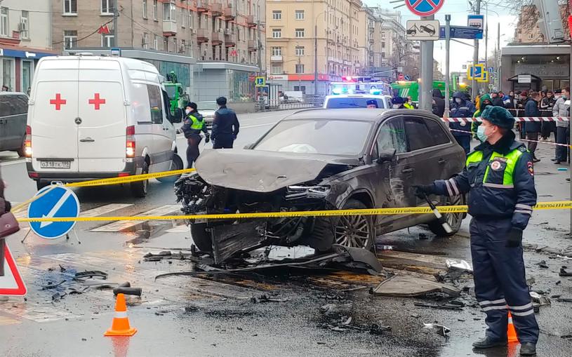 Власти Москвы назвали главные причины ДТП с пострадавшими