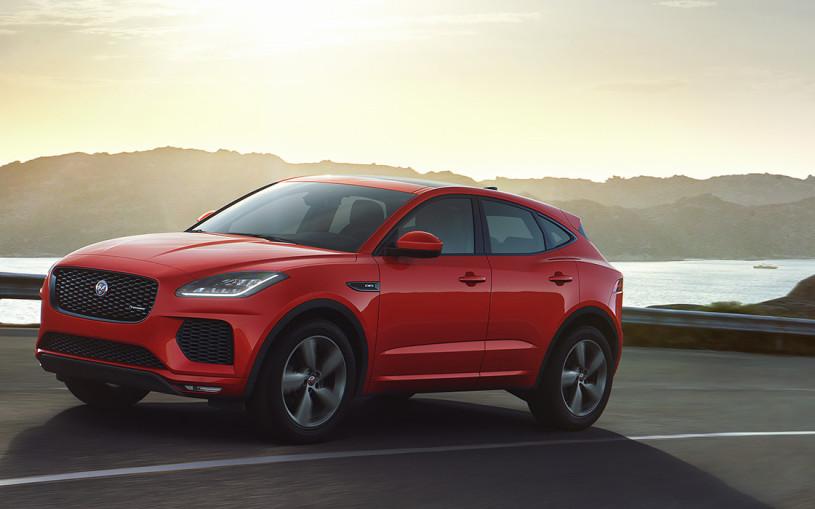 Jaguar привезет в Россию особую версию кроссовера E-Pace