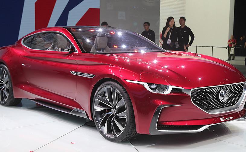 Марка MG разработала потенциального конкурента Tesla