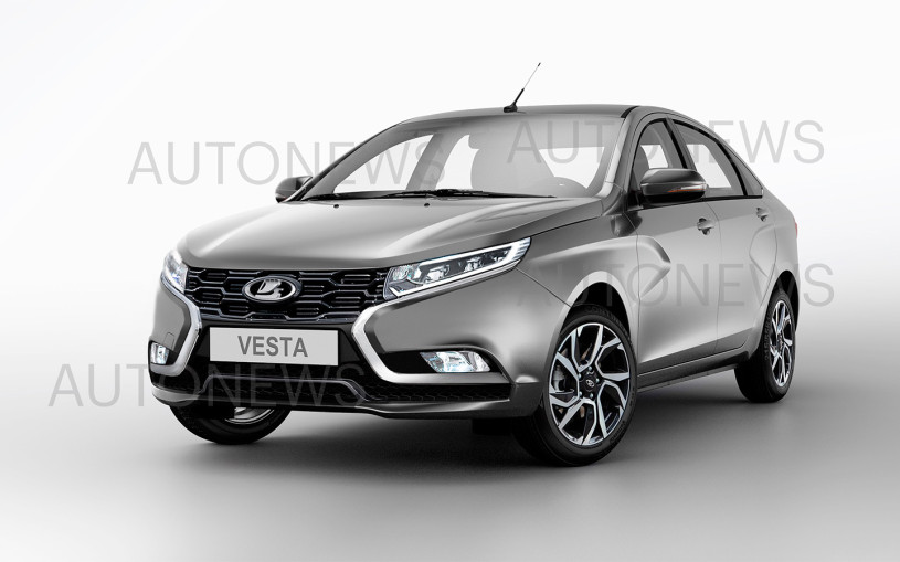 Lada Vesta 2022: все подробности и изображения