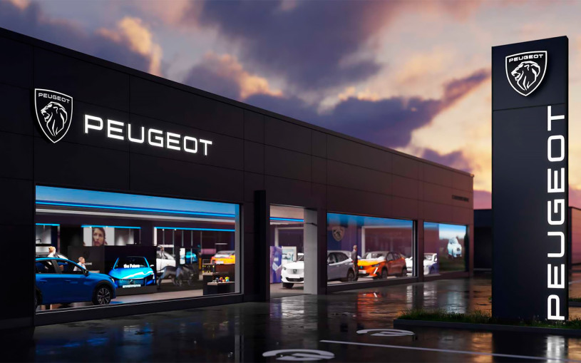 Peugeot показала новый логотип