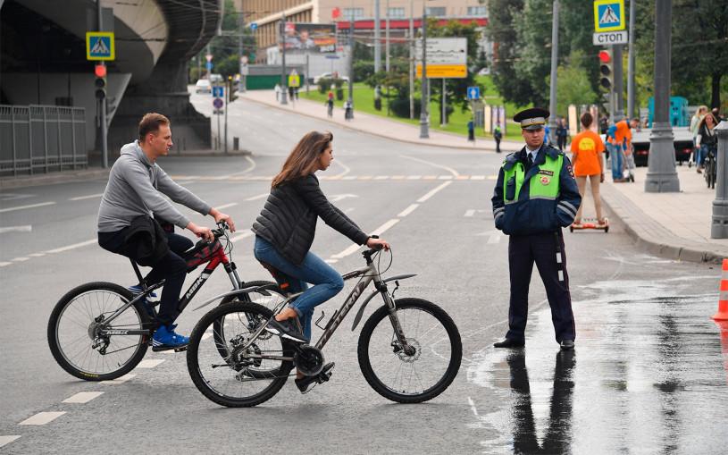 ГИБДД перечислила штрафы для велосипедистов