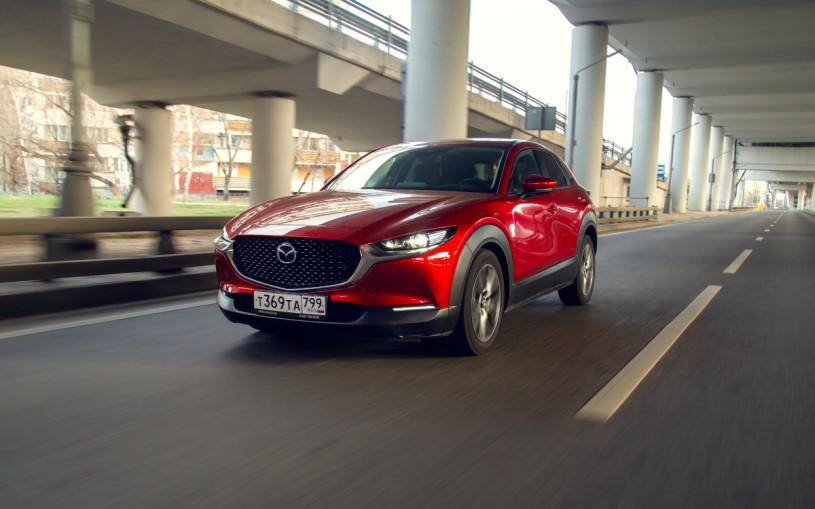 Mazda рассказала об оснащении нового кроссовера CX-30 для России