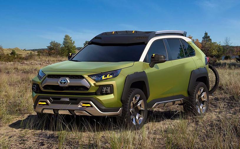 Toyota выпустила внедорожник с функцией трансляции путешествий