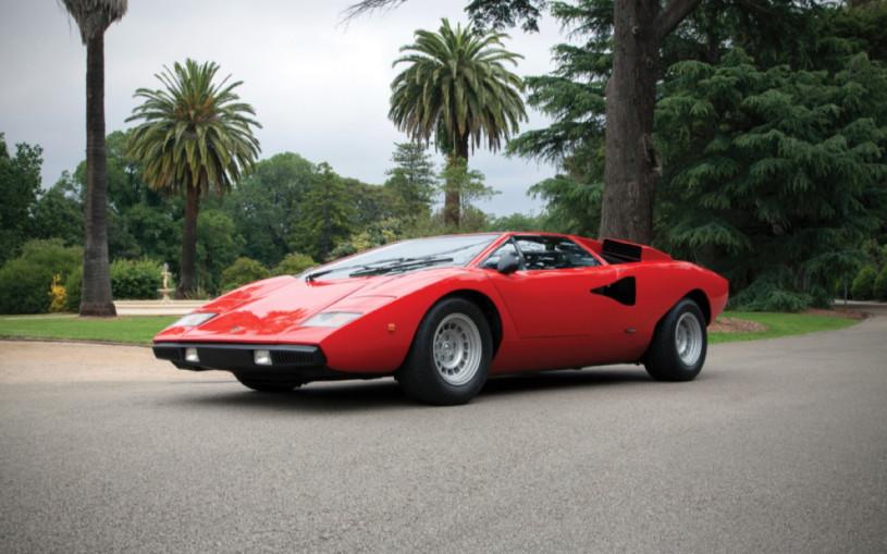 Lamborghini выпустит современную версию суперкара Countach