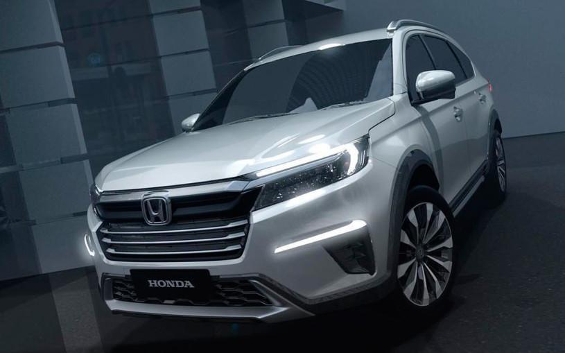 Honda показала предвестника нового семиместного кроссовера