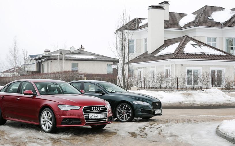 Джентльмен-шоу. Audi A6 против Jaguar XF