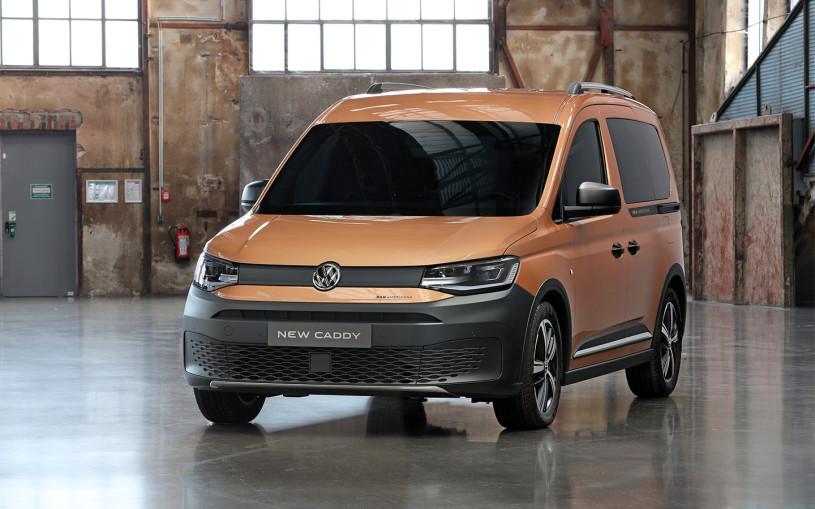 Volkswagen выпустил вседорожную версию нового Caddy