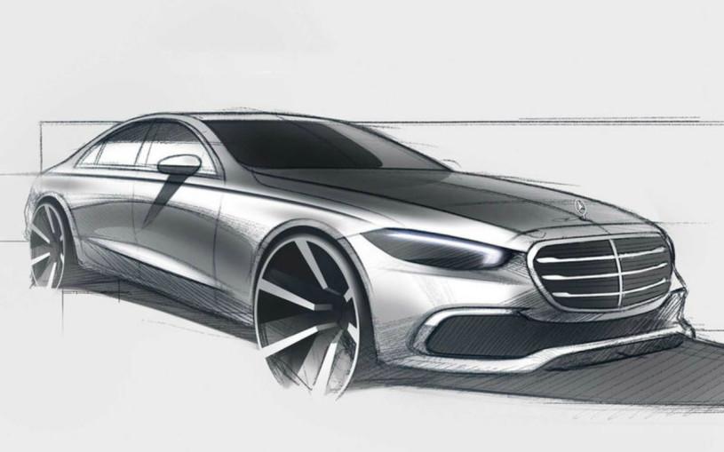 Mercedes полностью раскрыл внешность нового S-Class