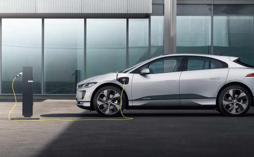 Jaguar представил обновленный кроссовер I-Pace