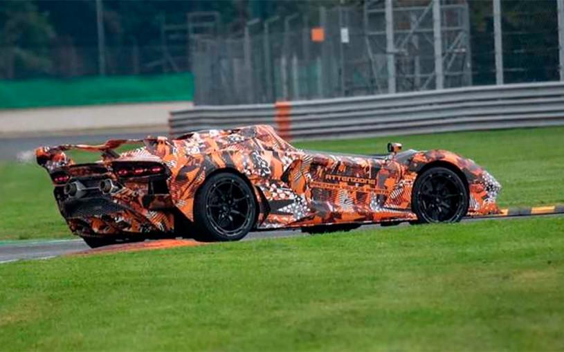 Lamborghini приступил к тестам суперкара без крыши