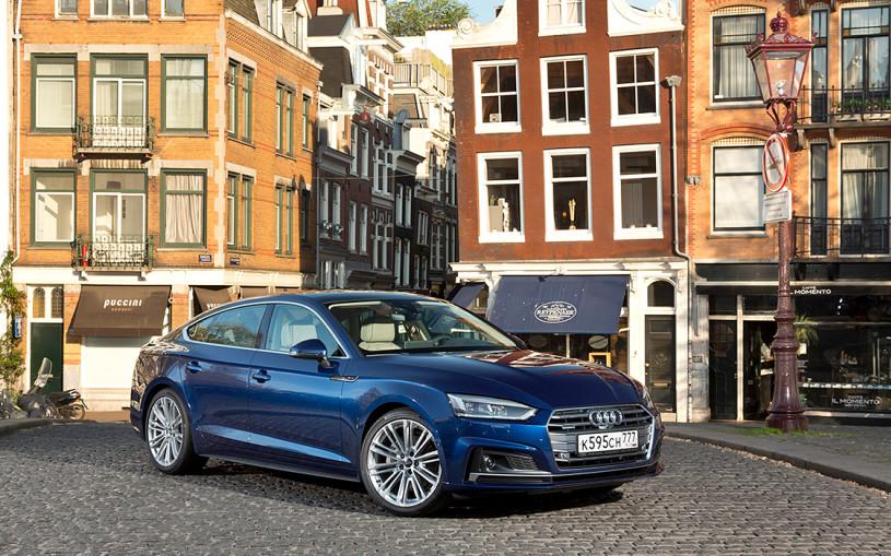 Умники и умница. Тест-драйв Audi A5 Sportback и S5