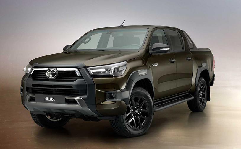 Toyota представила обновленный Hilux