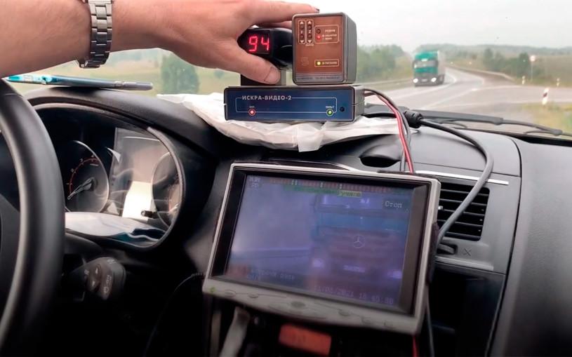 В ГИБДД показали, как работают скрытые радары на скорость