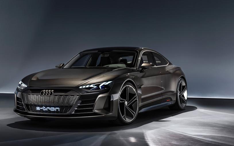 Audi привезла в Лос-Анджелес 590-сильного соперника Tesla Model S