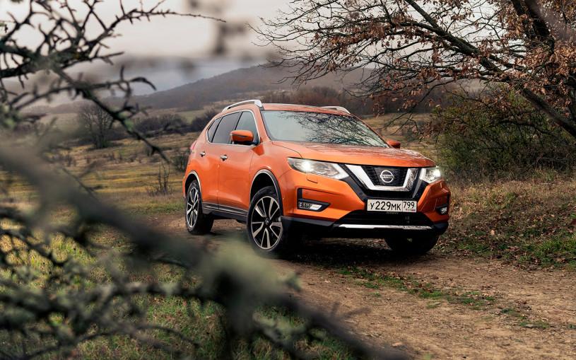 Nissan назвал российские цены на обновленный кроссовер X-Trail