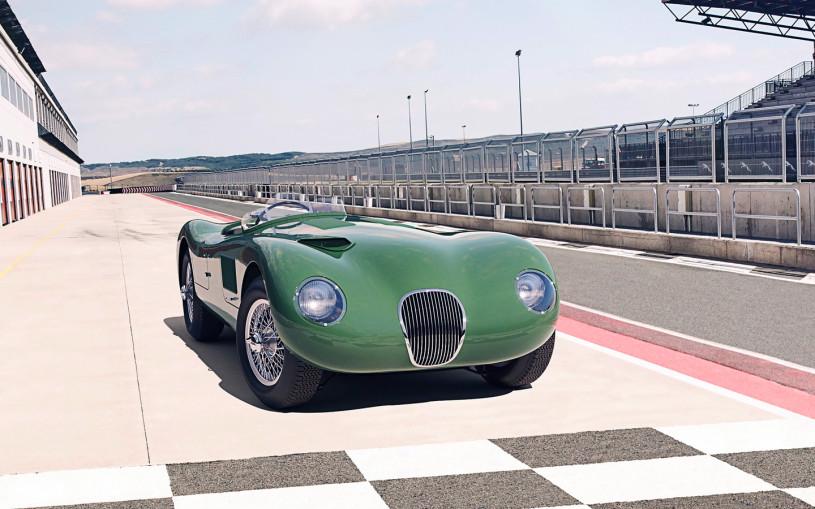 Jaguar возродил классический спорткар 70-летней давности