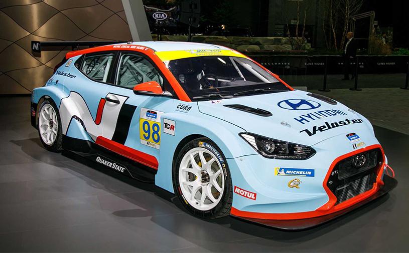 Hyundai Veloster получил 350-сильную версию для гонок