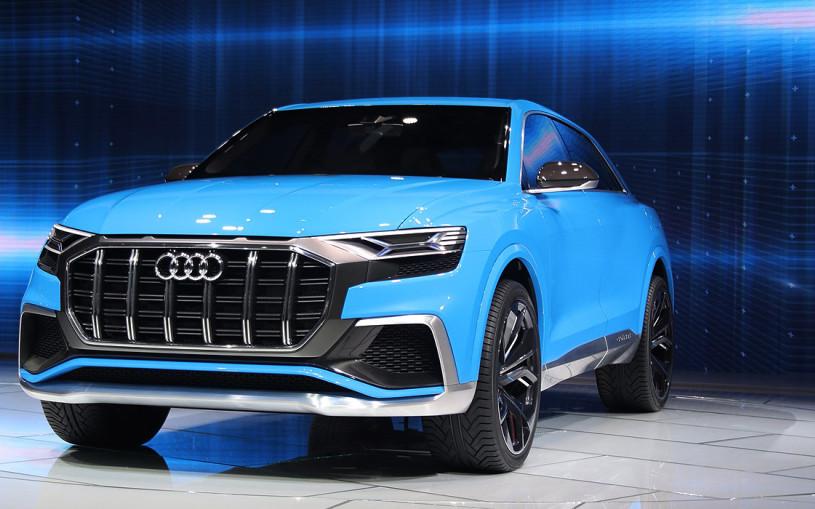 От Audi Q8 до Lexus LS: главные новинки мотор-шоу в Детройте