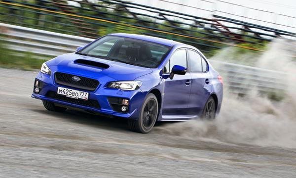 Синих кровей. Тест-драйв Subaru WRX