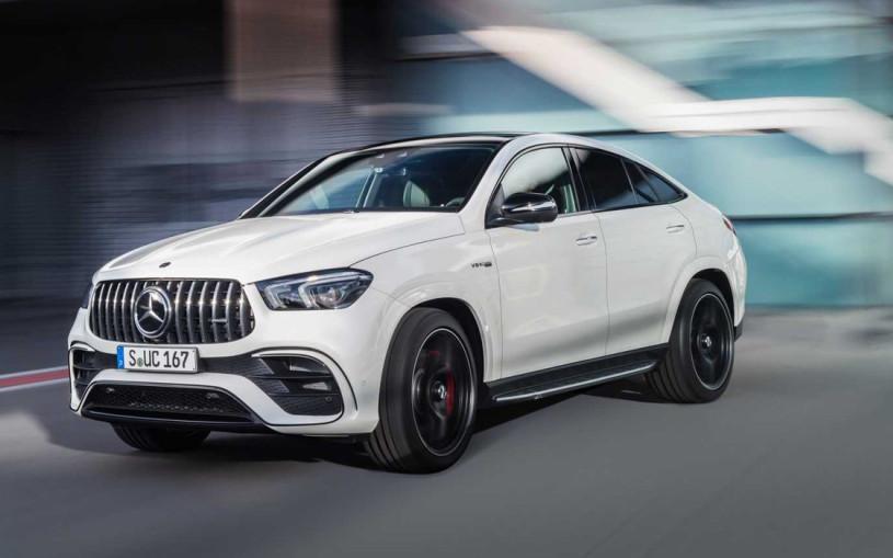 Mercedes представил самый мощный и быстрый GLE Coupe
